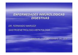 Enfermedades Inmunologicas Digestivas