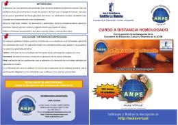 http://aulavirtual CURSO A DISTANCIA HOMOLOGADO