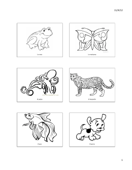Los animales COLORING BOOK.pptx