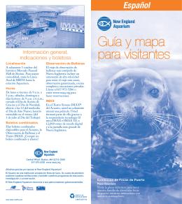 Guía y mapa para visitantes