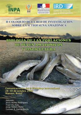 Biologia de las poblaciones de peces de la Amazonia y
