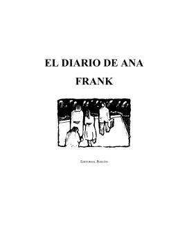 EL DIARIO DE ANA FRANK - Grupo de Acción Comunitaria