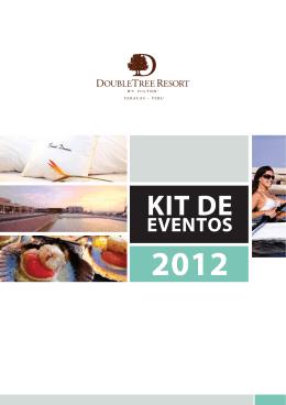 Kit Eventos Paracas 2012