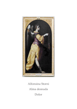 Alfonsina Storni Alma desnuda Dolor