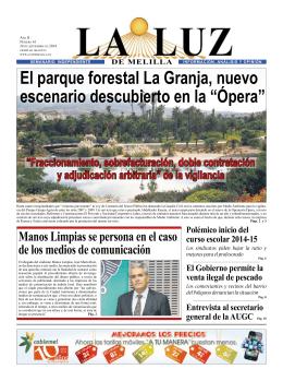 La Luz 61 - Luz de Melilla
