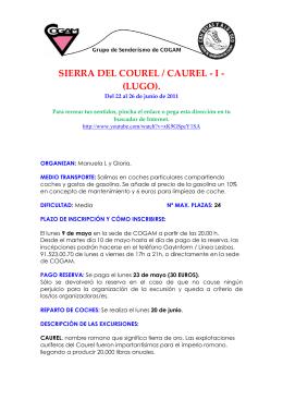 SIERRA DEL COUREL / CAUREL - I - (LUGO).