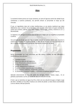 Archivo Productos de Ajos en PDF