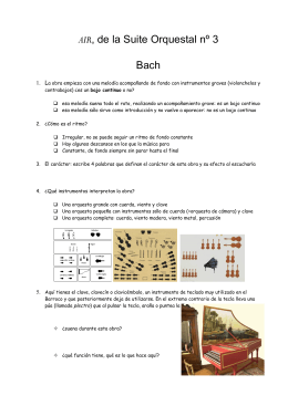 AIR, de la Suite Orquestal nº 3 Bach