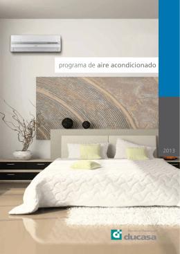 Catálogo Aire Acondicionado
