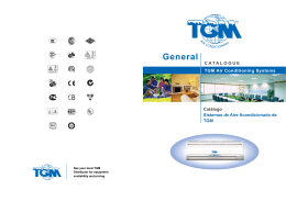 CATALOGUE General TGM Air Conditioning Systems