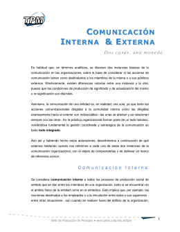Dos caras, una moneda - Facultad de Periodismo y Comunicación