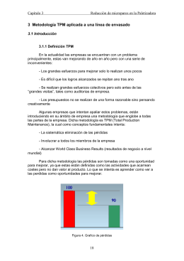 3 Metodologia TPM aplicada a una linea de envasado