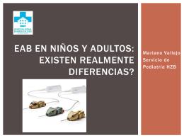 EAB en niños y adultos: existen realmente diferencias?