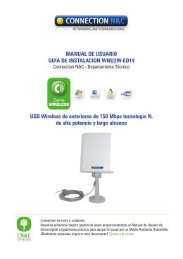 Manual WNU2W-ED14