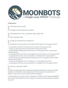 FAQ/Español P: ¿Tiene algún coste el juego? R: No. El