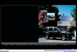Catálogo Nissan Pathfinder + Pathfinder Platinum