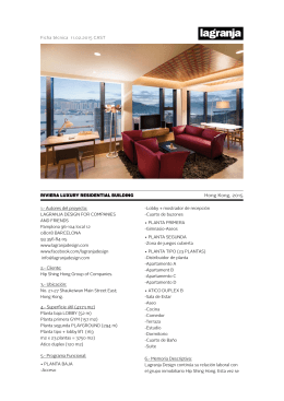 Hong Kong, 2015 RIVIERA LUXURY