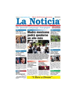Madre mexicana podrá quedarse un año más - La Noticia