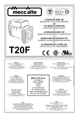 T20F - Mecc Alte SpA