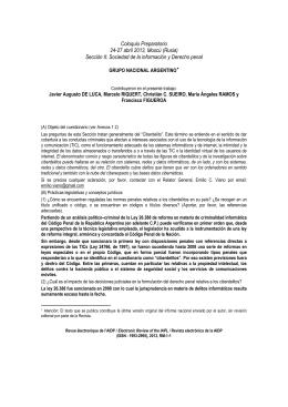 Seccin 2: Documento de reflexin y cuestionario