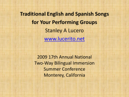17th Annual National Two-Way Bilingual