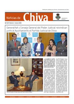 Noticias de Chiva Ayuntamiento