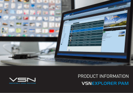 VSNEXPLORER PAM Product Information