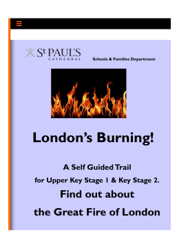 London`s Burning! - St Paul`s Cathedral