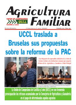La Unión de Campesinos de Castilla y León (UCCL) ve con