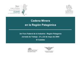 Minería - Unión Industrial Argentina
