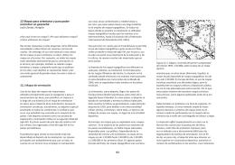 Mapas para orientarse y para poder encontrar un geocache