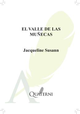 EL VALLE DE LAS MUÑECAS Jacqueline Susann
