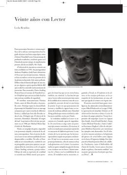 04. Sección 4 noviembre - Revista de la Universidad de México