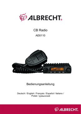 CB Radio - Alan-Albrecht Service