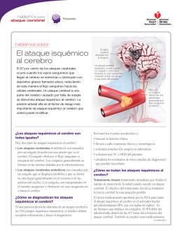 El ataque isquémico al cerebro