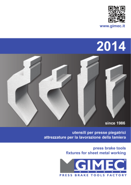 www.gimec.it press brake tools fixtures for sheet