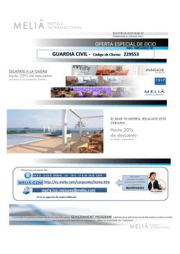 verano 2014-melia - Fundación Guardia Civil