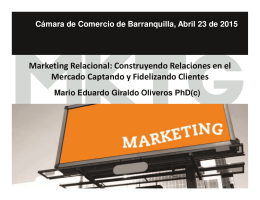 marketing relacional - Cámara de Comercio de Barranquilla