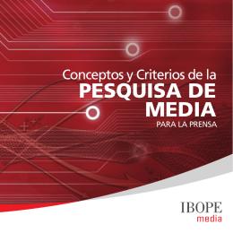 PESQUISA DE MEDIA