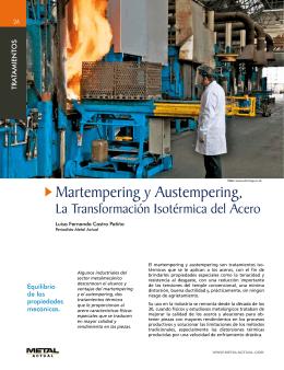 Matermpering y Austempering, La transformacion Isotérmica del Acero