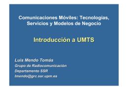Introducción a UMTS