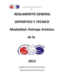 reglamento general cpp 2013