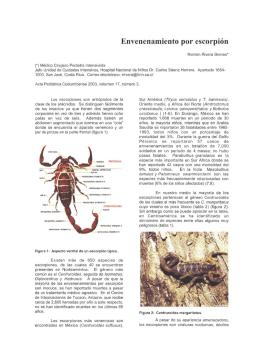 Envenenamiento por escorpión