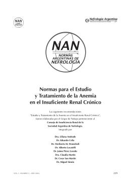 nan 2003 - Sociedad Argentina de Nefrología