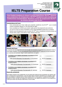 IELTS Preparation Spanish 2015.pub