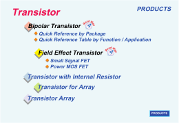 Transistor - videosistemas
