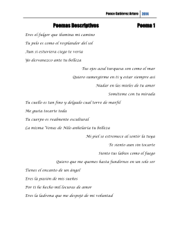 Poemas descriptivos