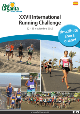 XXVII International Running Challenge