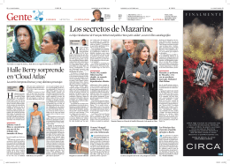Los secretos de Mazarine