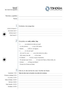test español tandem master